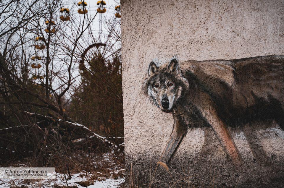 Современные графити в Припяти
