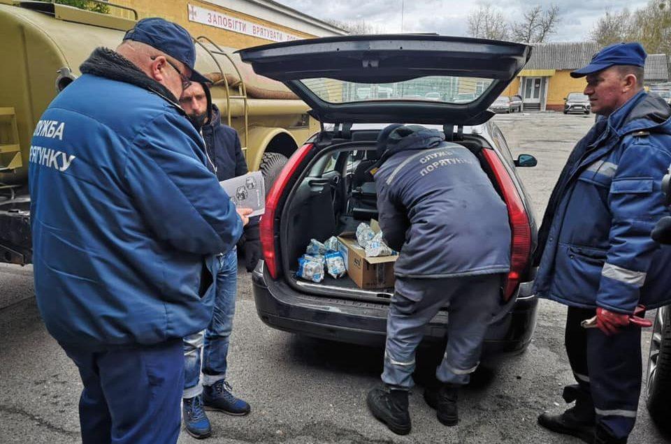 Помощь пожарным Чернобыля доставлена