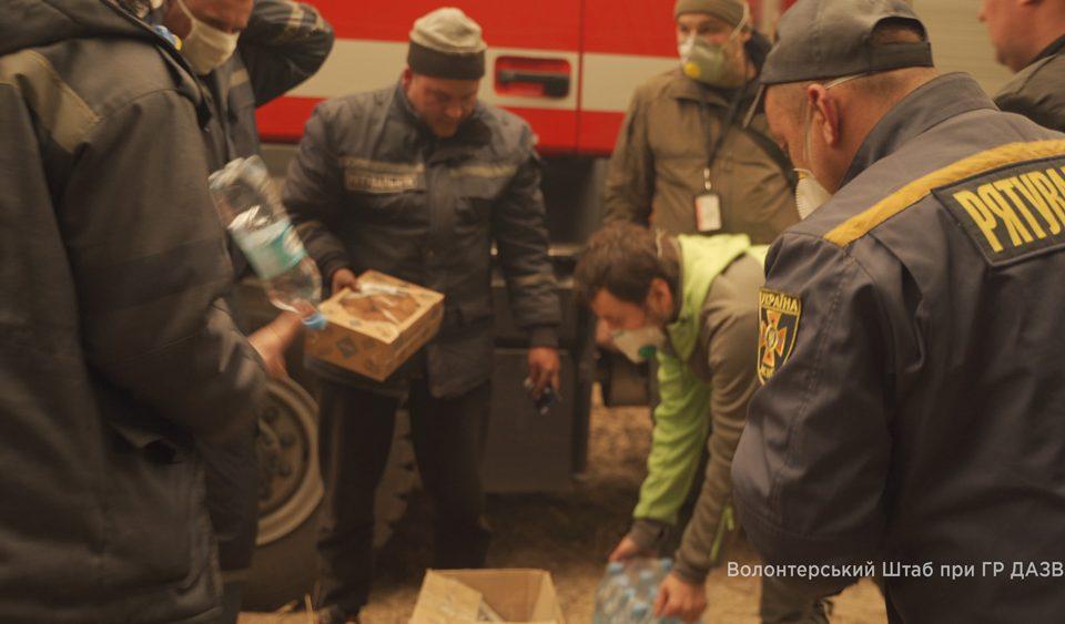 "Организован волонтерский штаб на КПП ""Дитятки"""
