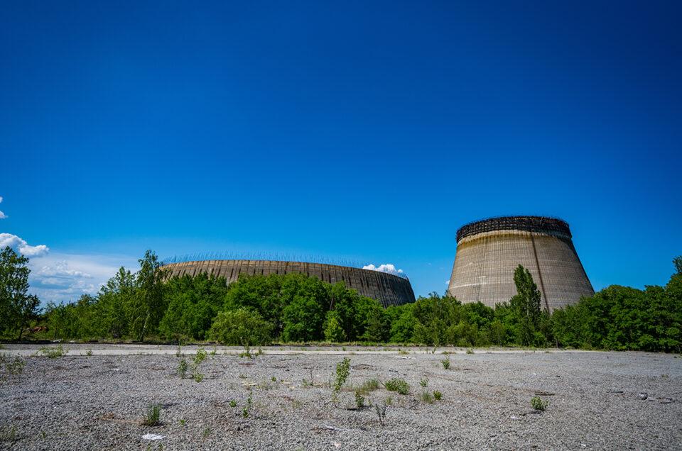 Градирни – системы охлаждения для 5 и 6 реакторов ЧАЭС