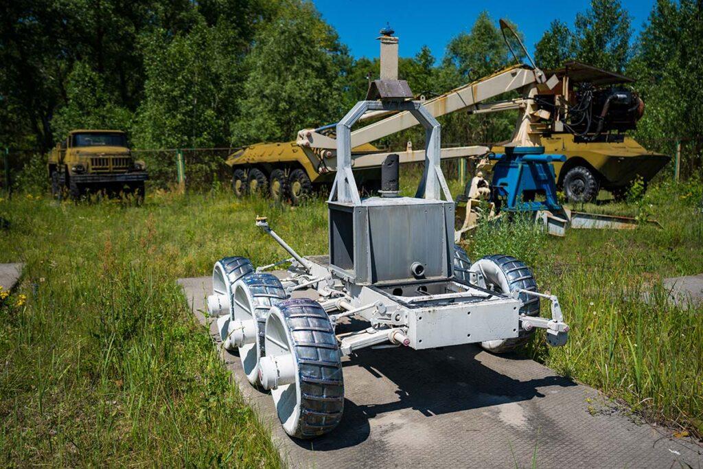СТР-1 на экспозиции в Чернобыле