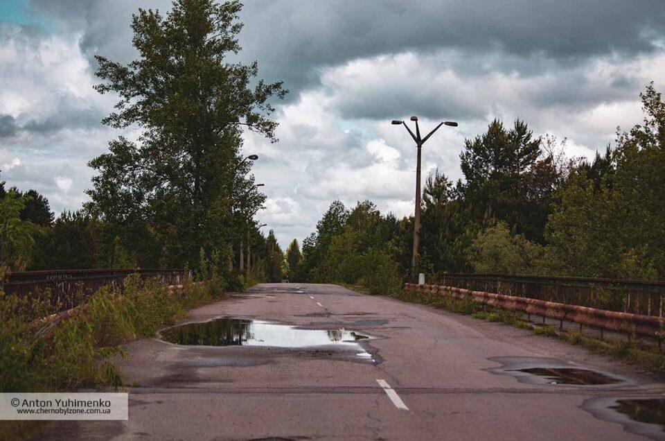 """Легенды про Припятский """"Мост смерти"""""""