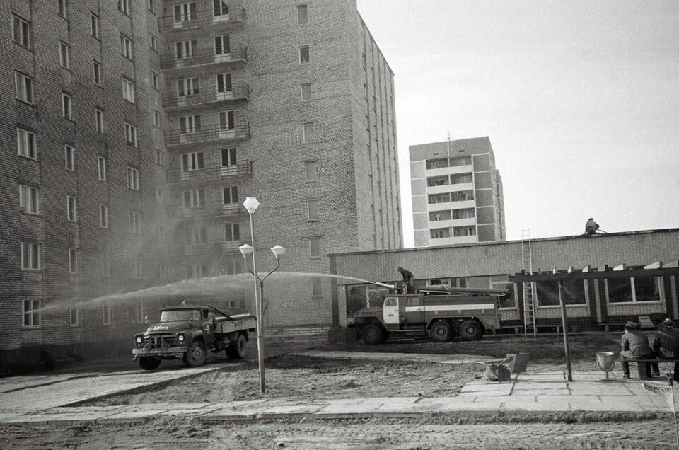 Дезактивация города Припять