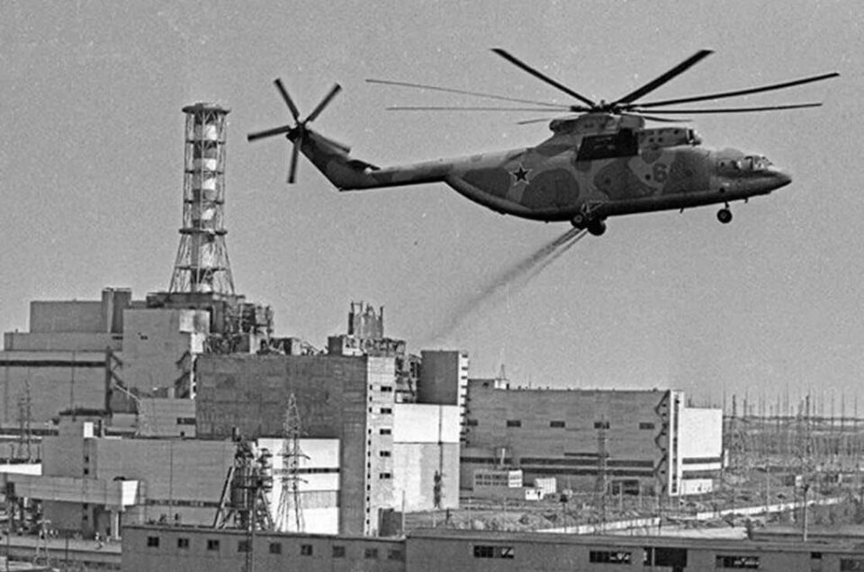 Подвиг «Небесных ангелов Чернобыля»