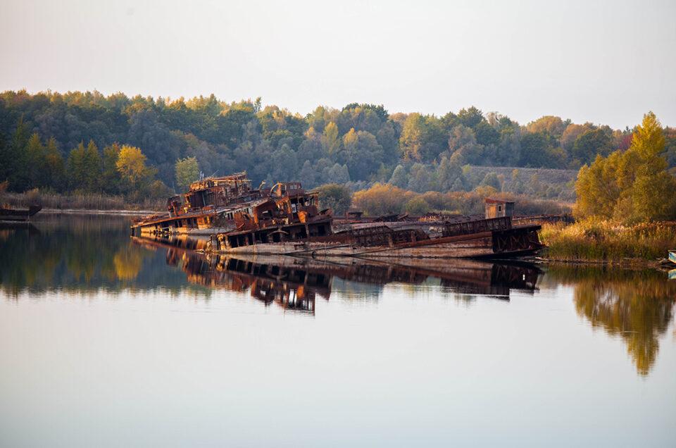 Судоходство на реке Припять