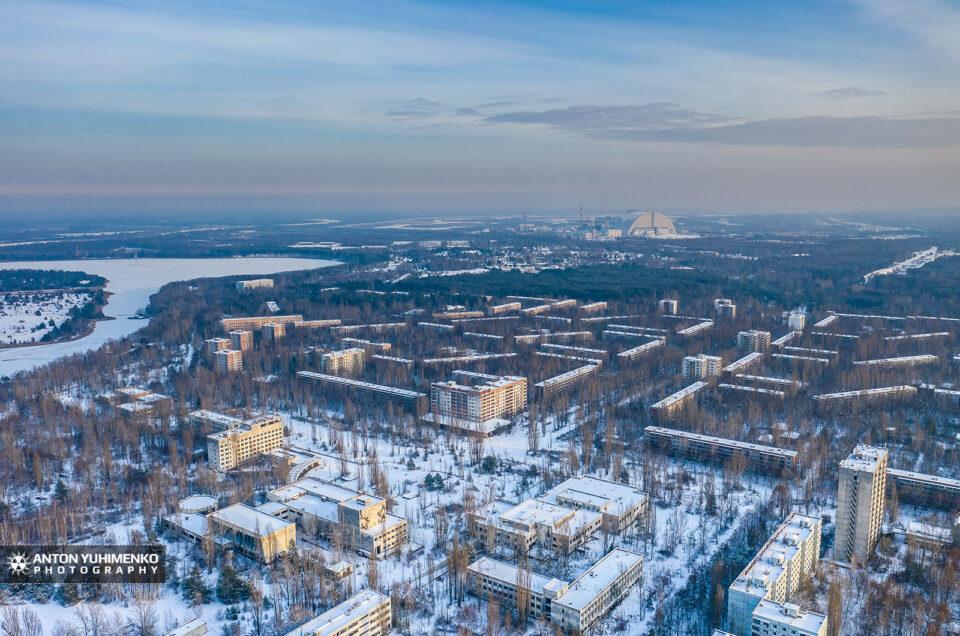 Выходит новый ролик из зимней Припяти в 4К